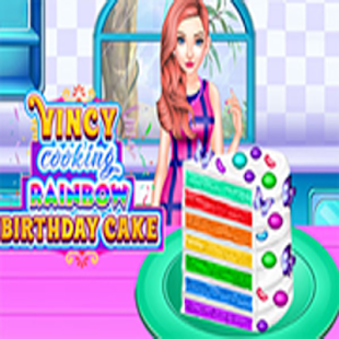 Vincy Cooking Rainbow Birthday Cake Apps On Google Play