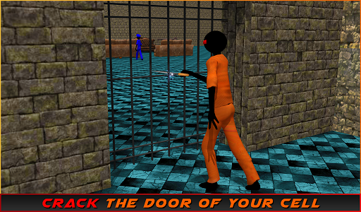 Stickman Prison Escape Story  screenshots 13