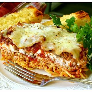 Best Baked Spaghetti Casserole.