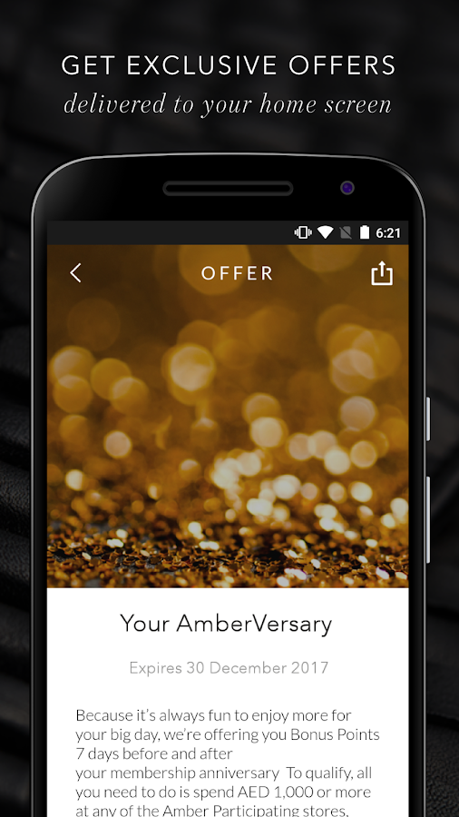 Amber- screenshot