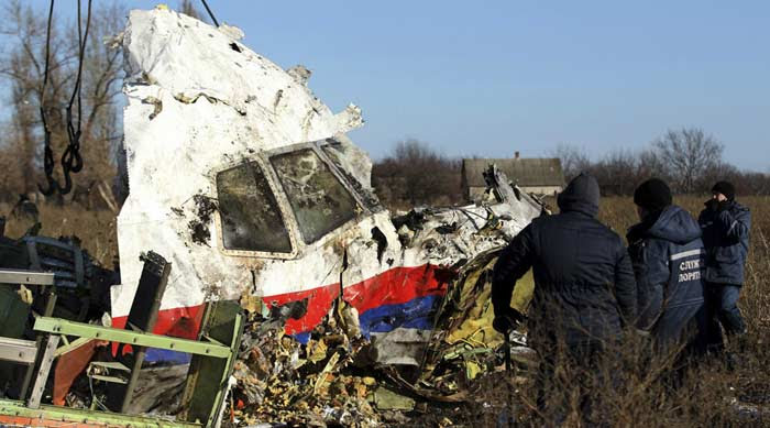 17 июля 2014 года, Катастрофа Boeing 777 в Донецкой области