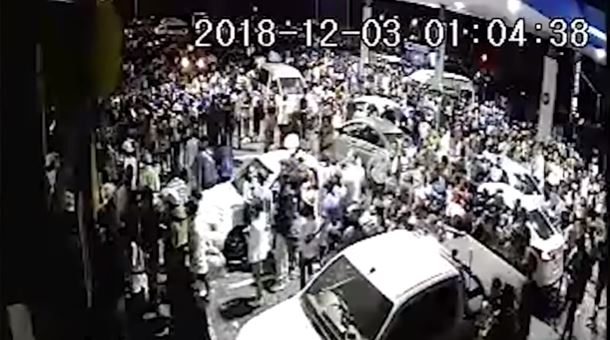 Watch Cctv Shows Crime Chaos At Sasol Garage After Global Citizen