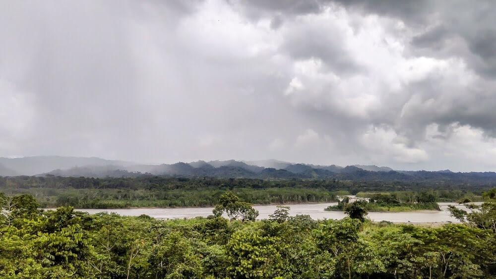 manu river Amazon Rainforest in Peru