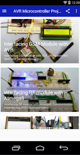 Download AVR Microcontroller Projects For PC Windows and Mac apk screenshot 1