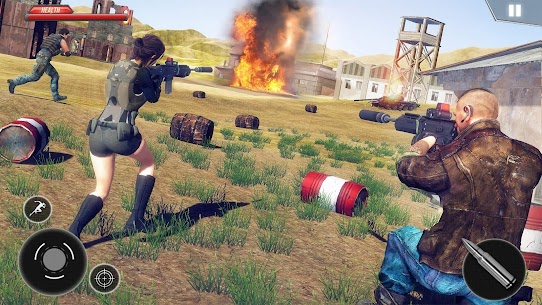 Firing Squad Fire Battleground Shooting Games 2020 Mod Apk Download For Android and Iphone 6