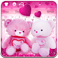 Lovely Bear Toy Keyboard icon