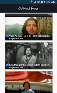 Old Hindi Songs screenshot 0