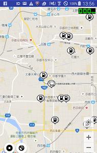 ガソリンスタンドマップ(簡易GPSロガー機能付) screenshot 0