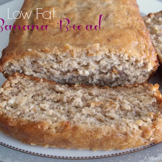Homemade Low Fat Banana Bread