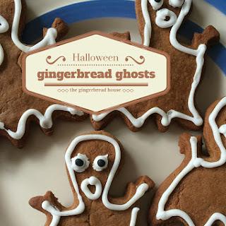 Halloween Gingerbread Ghosts