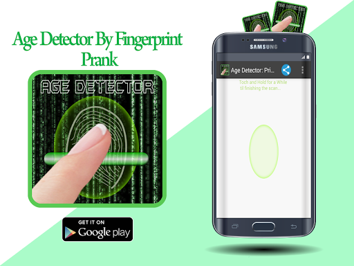 Age Detector: Print Scan Prank