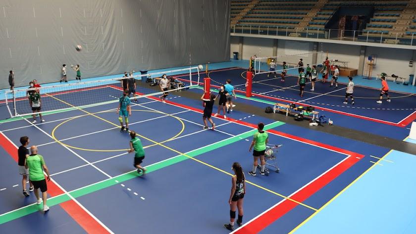 Un verano de voleibol con Unicaja Costa de Almería.