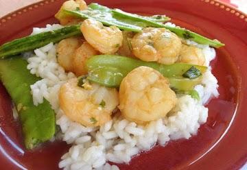 Orange & Lemongrass Shrimp Stir-fry Recipe