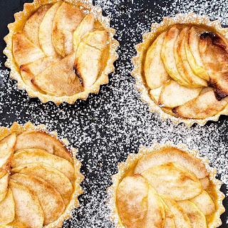 Apple And Cinnamon Tartlets.