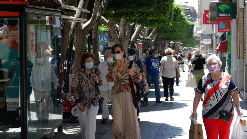 El coronavirus continúa su avance en Almeria.
