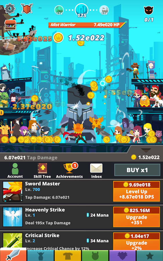 Tap Titans 2- screenshot