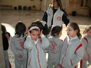 Photo: Séance de sport à l'école des soeurs de Saint-Joseph à Jérusalem