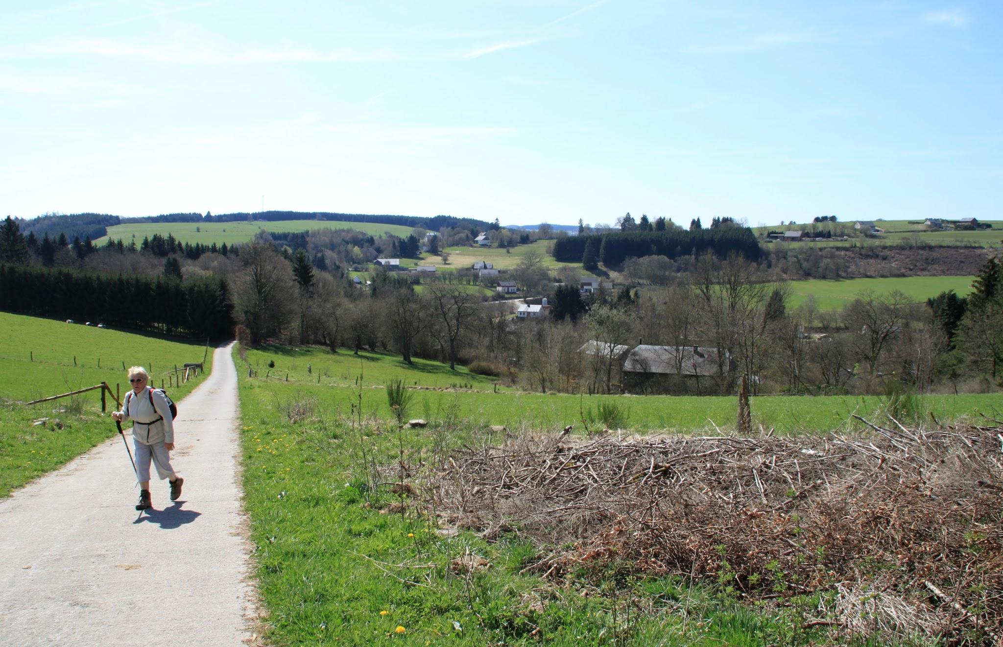 Foto: We klimmen de vallei van de Martin-Moulin uit