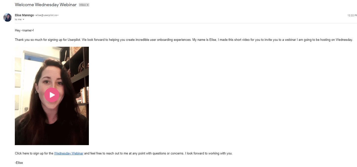 Userpilot transactional email