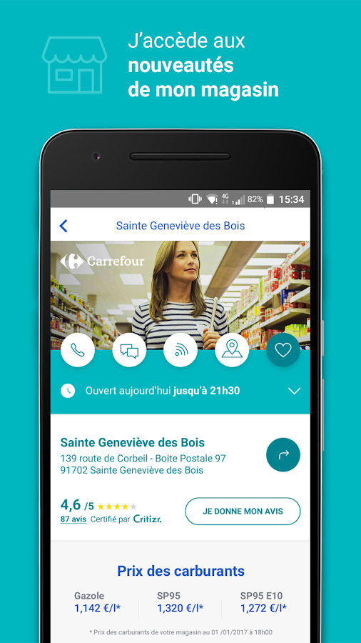 Carrefour- screenshot
