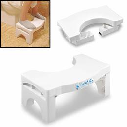 Taburet fiziologic pliabil WC impotriva constipatiei si hemoroizilor