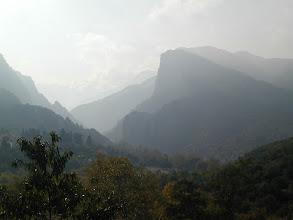 Photo: die Vithosschlucht bei Litochoro