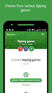 Soccerio - Soccer Tipping Game- screenshot thumbnail