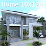 Modern Home Plan 10x12m With 4 Bedrooms APK icon