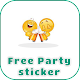 Download Free Party sticker For PC Windows and Mac