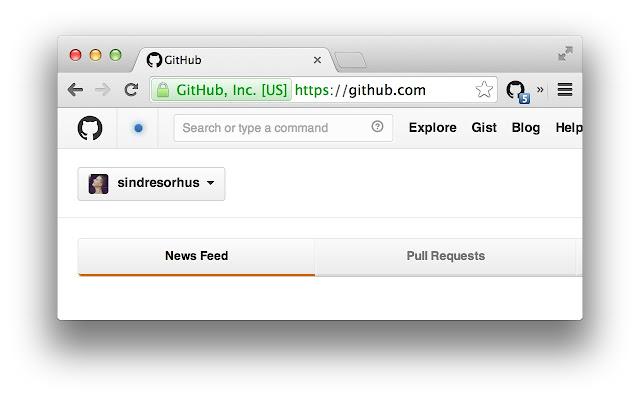 Notifier for GitHub