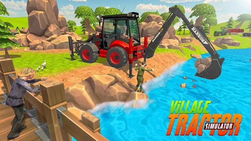 Virtual Village Excavator Simulator apkpoly screenshots 11