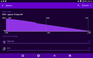 Screenshot of PCB Purple ⁞ CM12 Theme