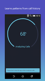 Call Predictor: AI based call prediction Screenshot