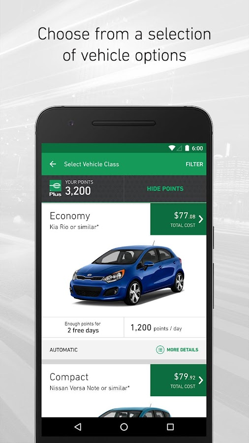 Rental Car Apps For Android