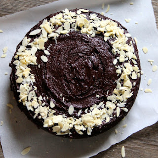 Chocolate & Courgette Honey Cake.