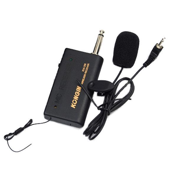 Microphone Sans Fil Transmetteur FM Récepteur Lavalier Lapel Clip Système Mic Système AAACFP www.avalonkef.com 3.jpg