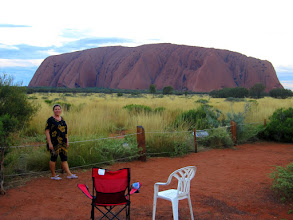 Photo: Year 2 Day 218 - Dee at Uluru