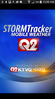 Screenshot of Q2 STORMTracker Weather App