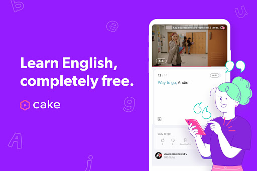 Cake - Learn English for Free 2.9.3 screenshots 1