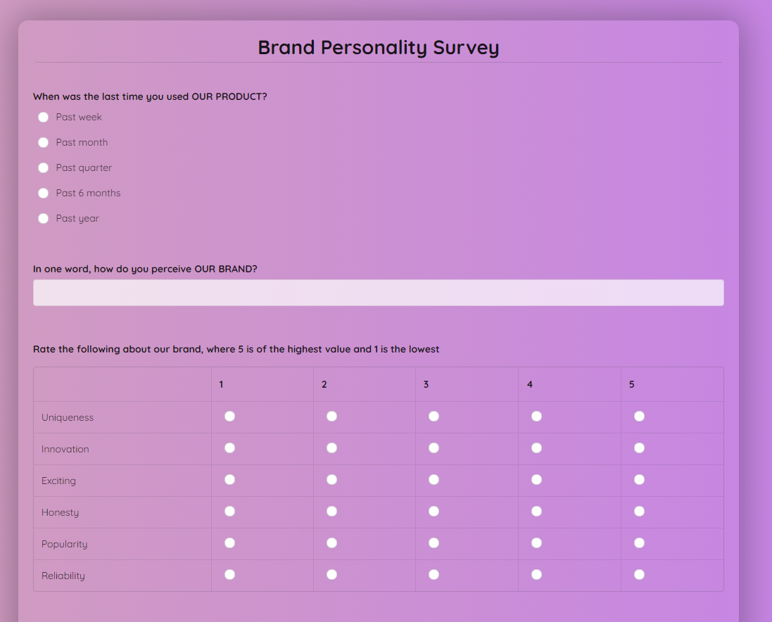 brand-personality-survey