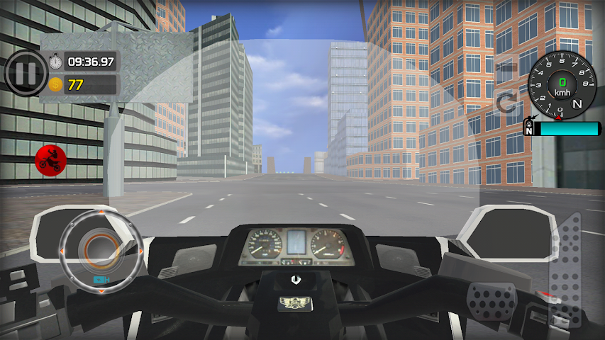 android Freestyle Motorcycle Driver Screenshot 3