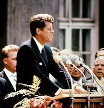 Photo: UNITED STATES:  John Fitzgerald Kennedy (1917-63), pictured in the 1960s in the USA. 09 November 1960, he was the first Catholic, and the youngest person, to be elected for Democratic party the president of the USA. 22 November 1963, Kennedy was assassinated while being driven in an open car through Dallas. (Photo credit should read AFP/AFP/Getty Images)