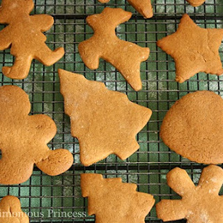 Only in December -- The Best Gingerbread Cookie