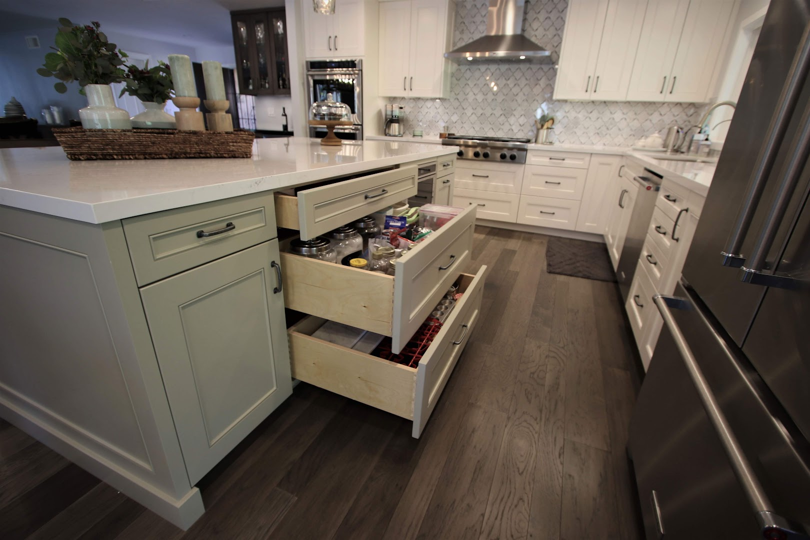 yorba linda orange county two island kitchen remodel