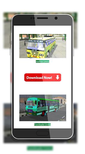 Tamil Bus Mod Livery | Indonesia Bus Simulator 1.1 screenshots 1