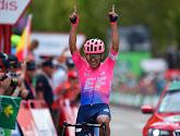 Victoire en solitaire sur la 18e étape de la Vuelta !  Sergio Higuita (EF Education First) a été le plus fort