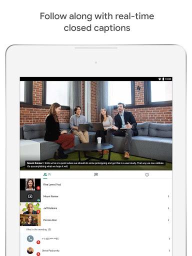 Google Meet - Secure Video Meetings 44.5.324814572 Screenshots 10
