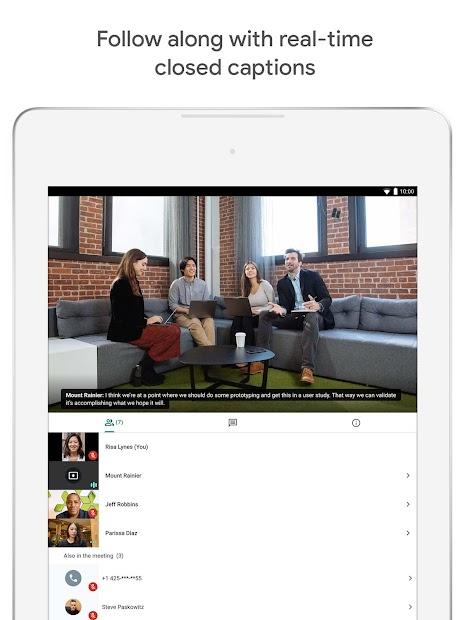 Screenshot - Google Meet – Secure Video Meetings
