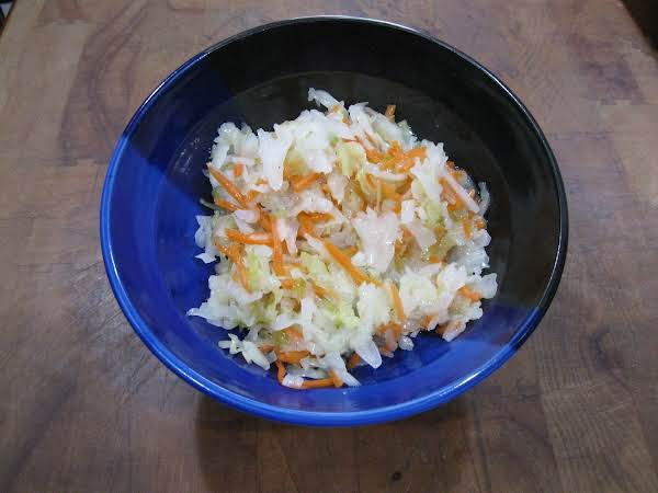 Wilted Cabbage Salad Recipe