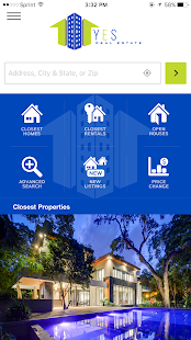 YES Real Estate Home Search - náhled